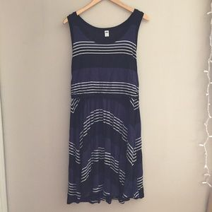 Old Navy Striped Jersey Knit Dress